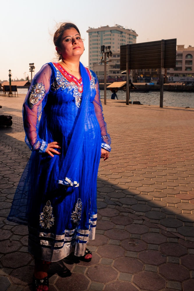 Colour and Grace by the Dubai Creek  (2/5)