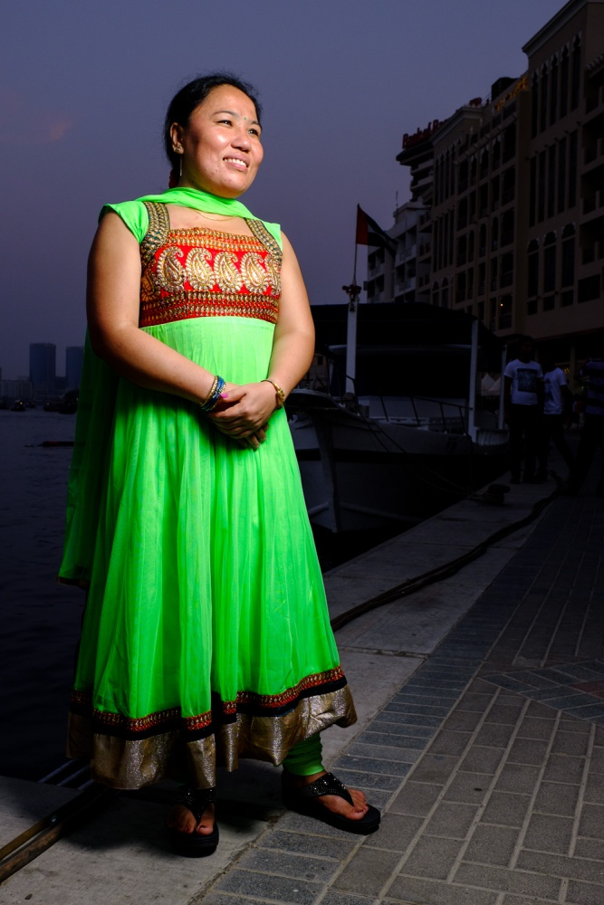 Colour and Grace by the Dubai Creek  (3/5)