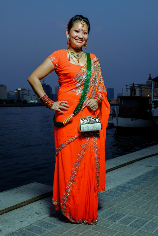 Colour and Grace by the Dubai Creek  (5/5)